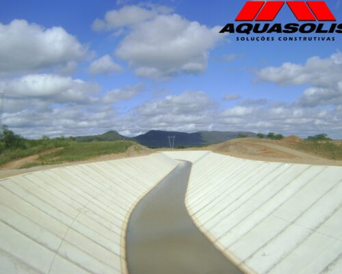Consórcio Águas do São Francisco - CASF - AQUASOLIS - Superfícies Inclinadas 01