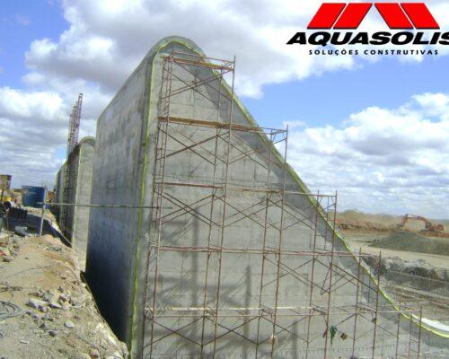 Consórcio Águas do São Francisco - CASF - AQUASOLIS - Superfícies Inclinadas 02