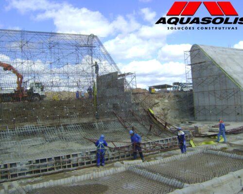 Consórcio Águas do São Francisco - CASF - AQUASOLIS - Superfícies Inclinadas 04