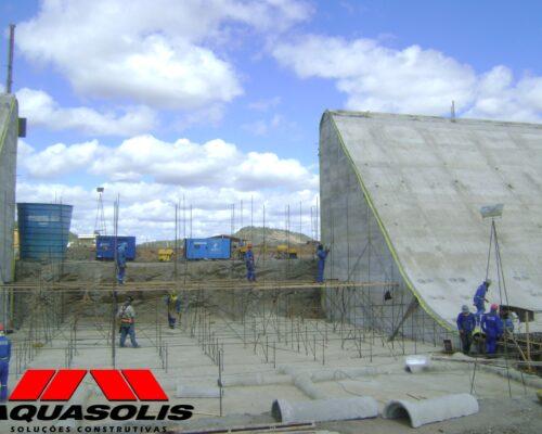 Consórcio Águas do São Francisco - CASF - AQUASOLIS - Superfícies Inclinadas 07